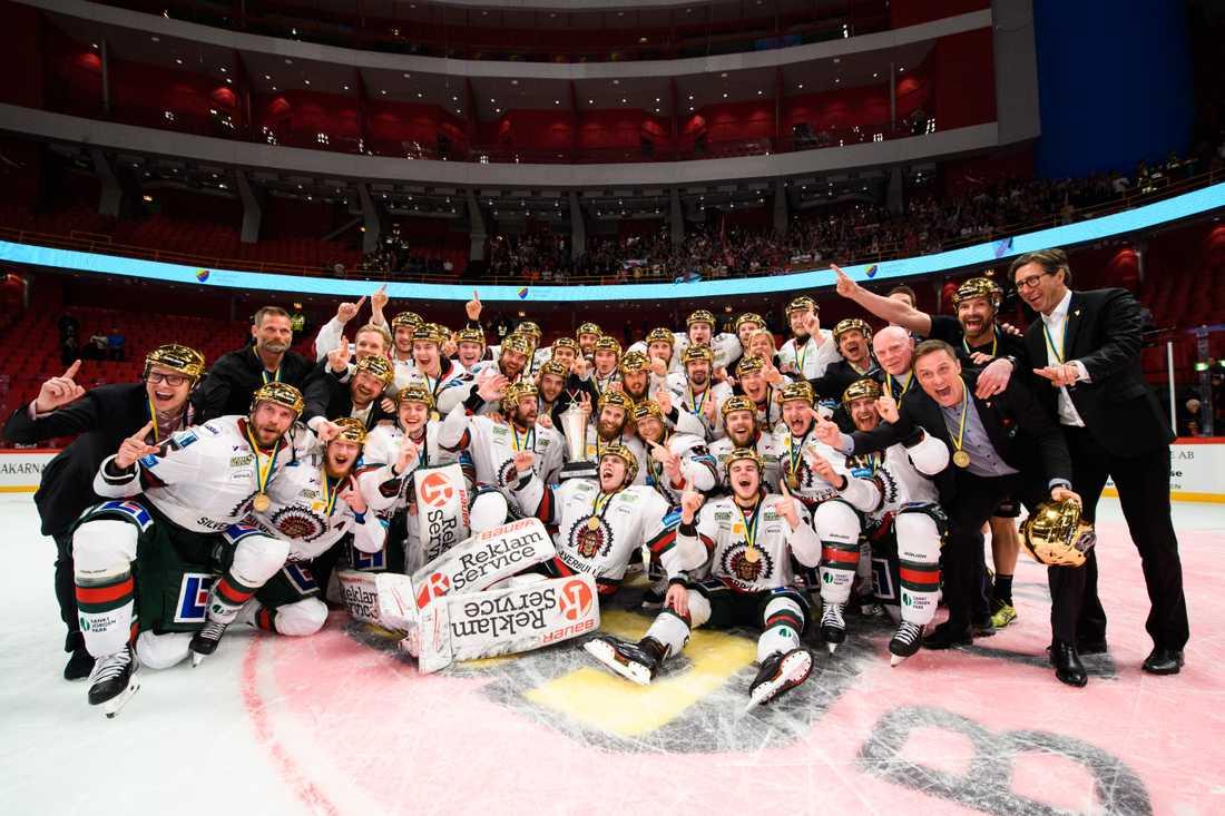 Frölunda är regerande mästare i ishockey efter finalsegern 2019. Slutspelet i SHL 2020 ställdes in på grund av coronapandemin och ingen mästare korades.