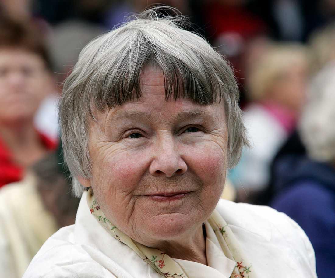 Lisbeth Palme i Almedalen 2008
