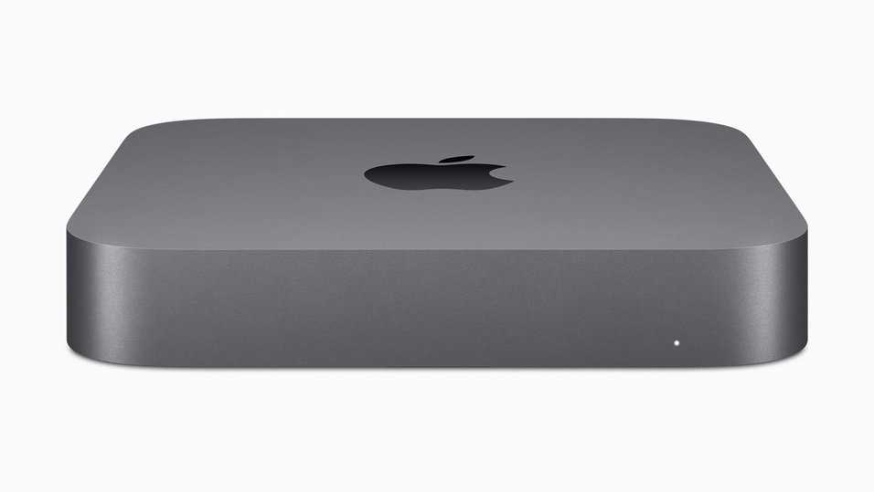 Apple lanserade en ny Mac Mini i New York den 30 oktober 2018.