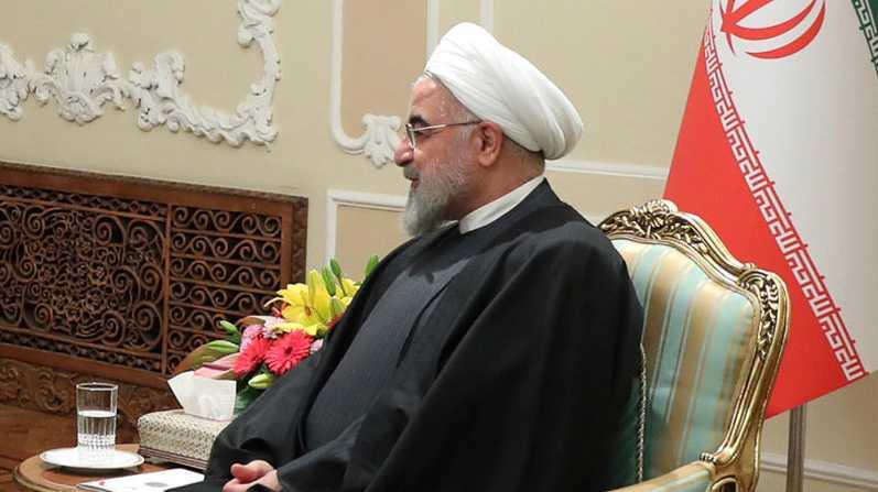 Irans president Hassan Rohani.