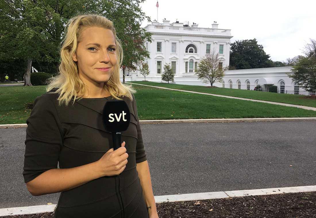 Carina Bergfeldt, korrespondent på SVT i Washington.