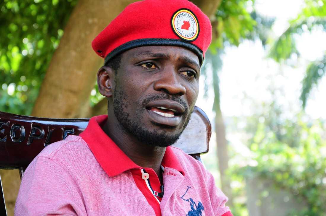 Bobi Wine har fängslats flera gånger och fått utstå flera mordförsök.
