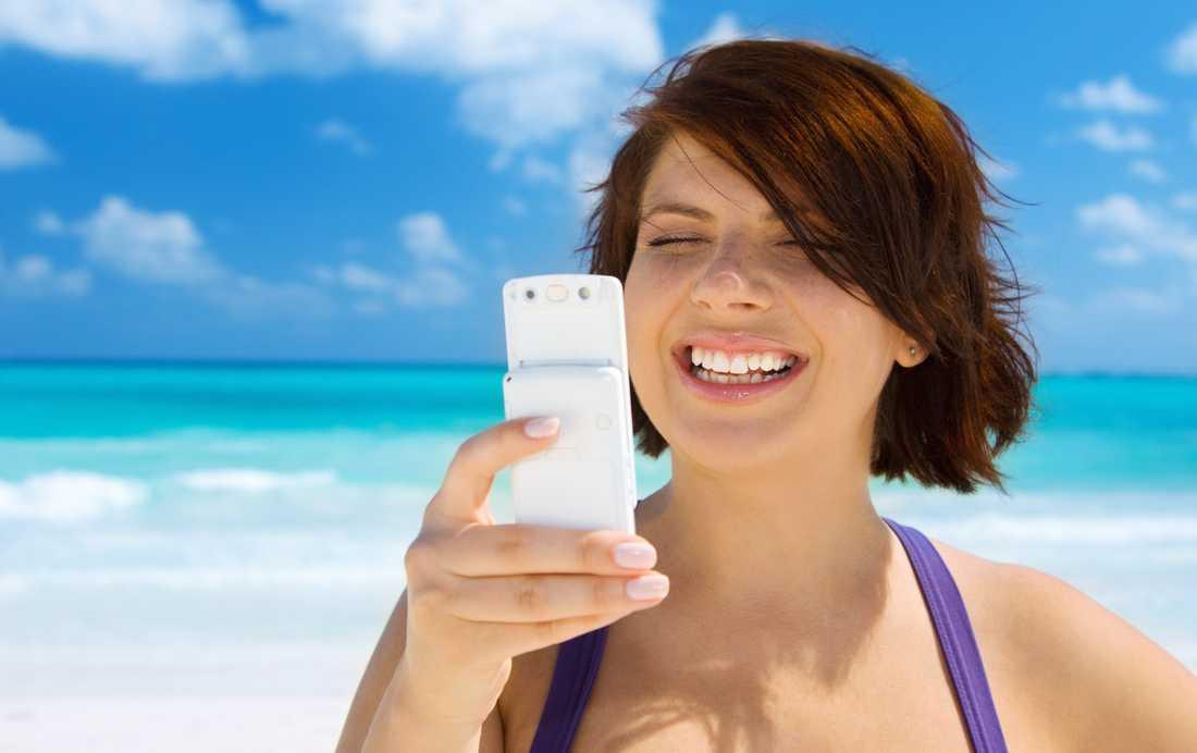 Fler surfar i mobilen utomlands.