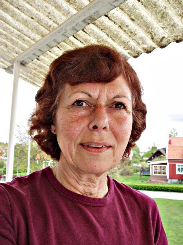 Lisbeth Frohm, centerpartist från Örebro.