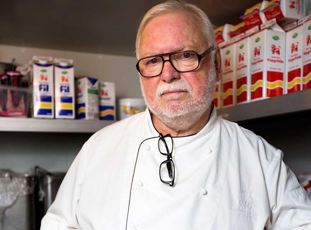 Kocken Leif Mannerström.
