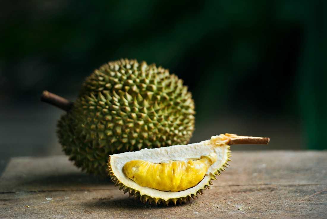 Durianfrukt.
