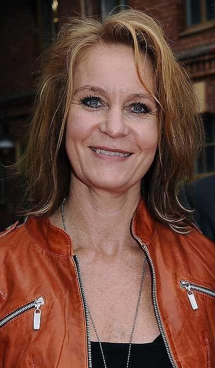 Antons mor – skådespelerskan Maria Lundqvist.