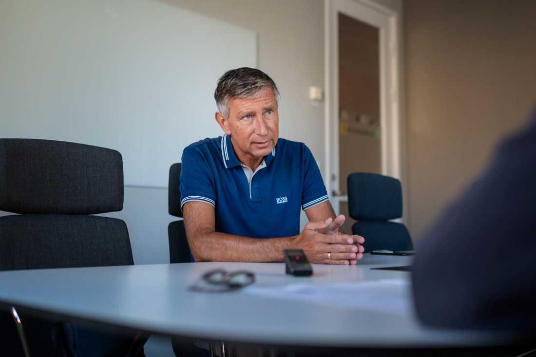 Richard Bergström, Sveriges vaccinsamordnare, varnar för framtida vaccinationskrav för att exempelvis resa in i vissa länder. Arkivbild.