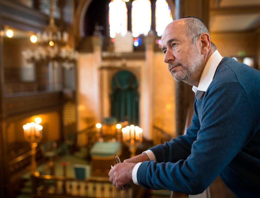 Göteborg har pekats ut som den stad i Sverige där det finns flest islamister som rest för att kriga i Mellanöstern och sedan återvänt. – Jag känner en stor oro över det. Vi har nu en hotsituation de flesta av oss aldrig upplevt tidigare, säger George Braun, ordförande för Göteborgs judiska församling.
