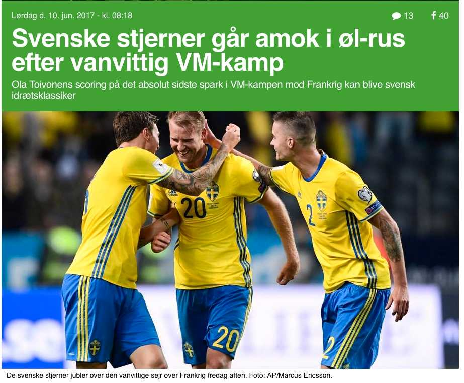 Danska Ekstrabladet.