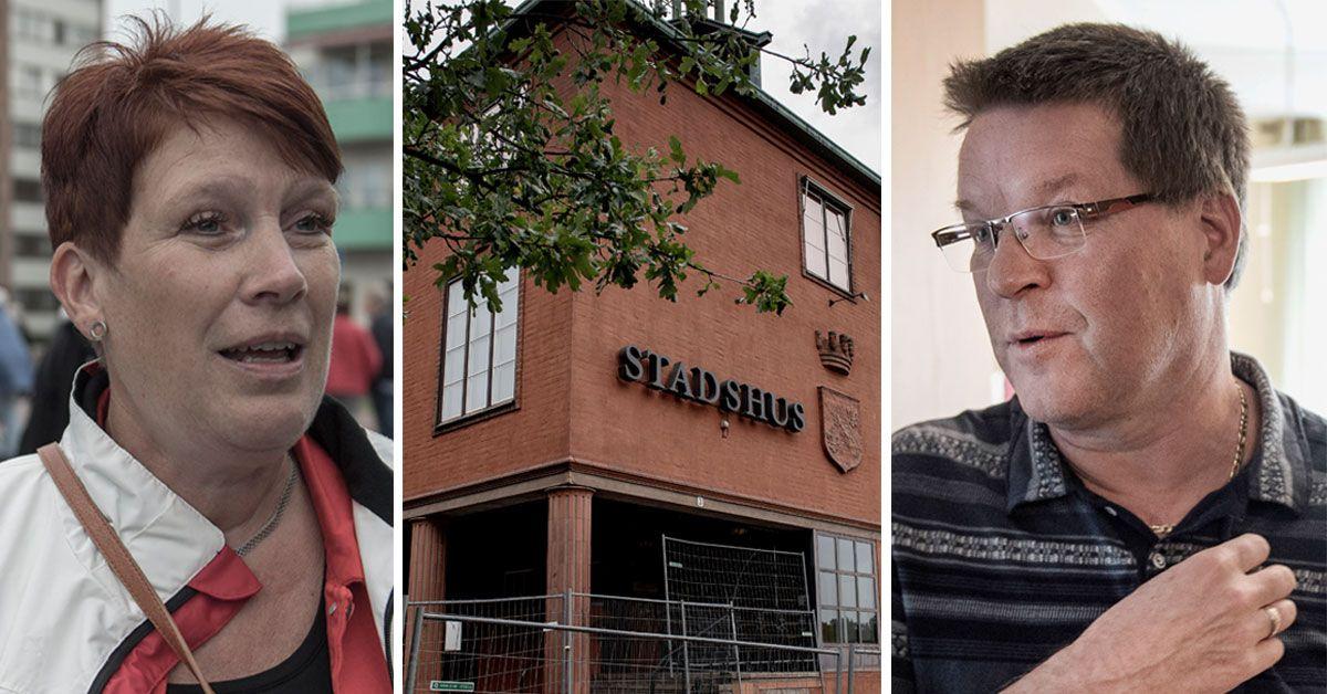 En handfull nazister sätter skräck i Ludvika