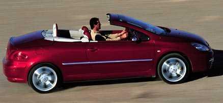 Att tänka på vid köp av Peugeot 307 CC  Oljud från bromsarna är ett vanligt 307-fel. Bromsklossarna kärvar och skivorna kan rosta.  Elektronik. Motorstyrningen kan ge ryckig gång, men motorstyrningslampan kan lysa utan att det finns något fel. Blinkersspak och klimatorstyrningen är andra irriterande fel.  Oljud i chassit. Bärarmar och andra leder i chassit låter illa, nya gummin eller hållare till krängningshämmarstagen kan vara lösningen.  Fönsterhissar kan krångla.