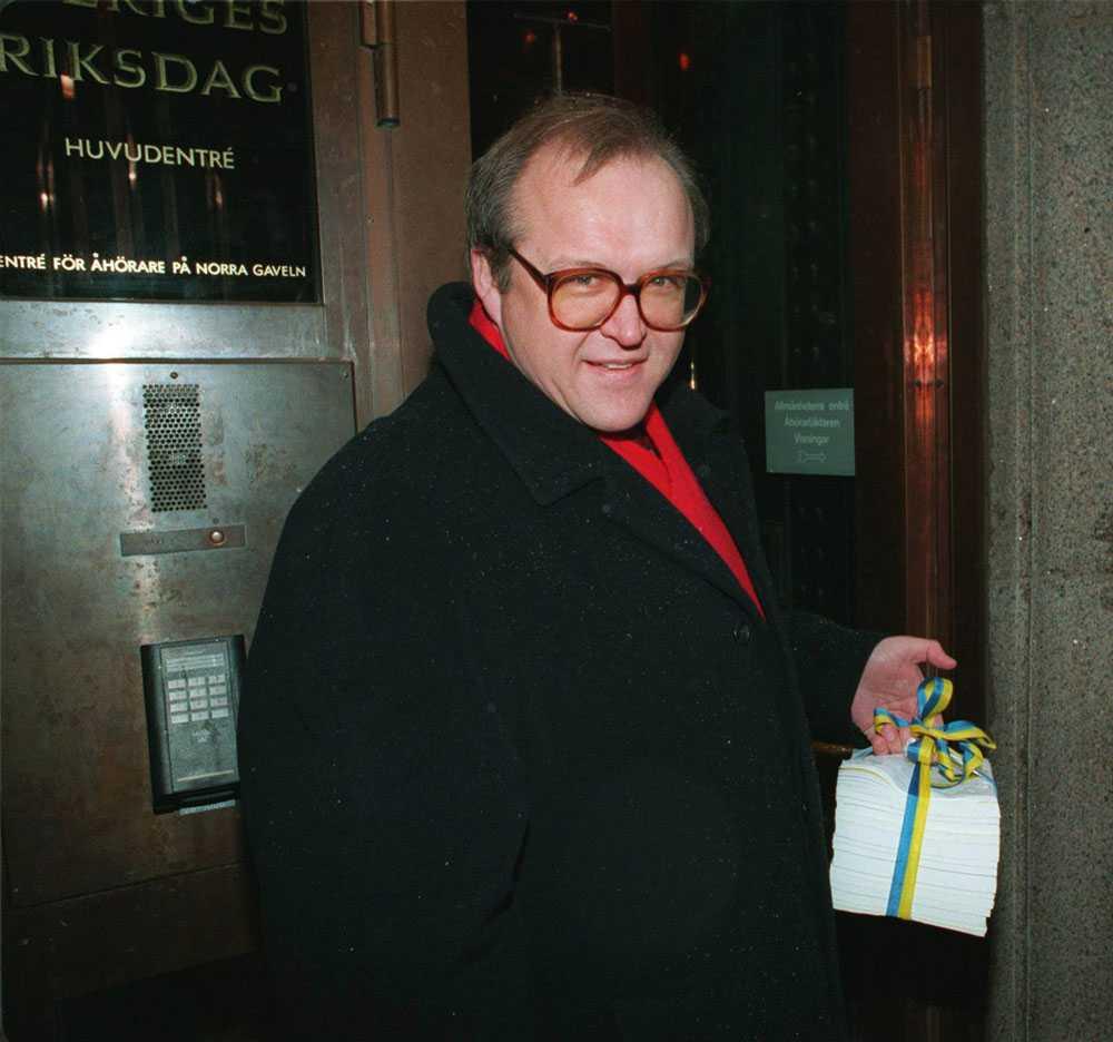 1995 Göran Persson hade bra koll på rikets finanser - också.