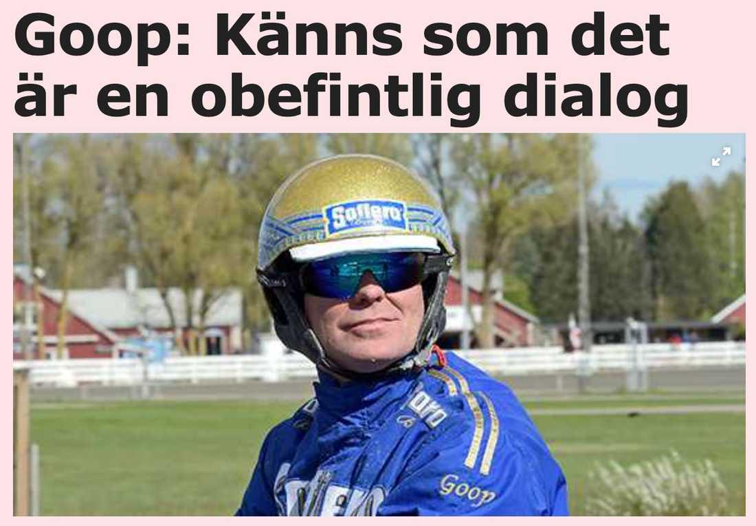 Från Björn Goops krönika i Sportbladet onsdagen den 16 september.