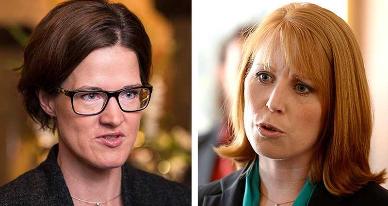 Amerikanska tokerier. Anna Kinberg Batra och Annie Lööf vill bara förstöra och blockera. Inspirationen har de hämtat från andra sidan Atlanten.