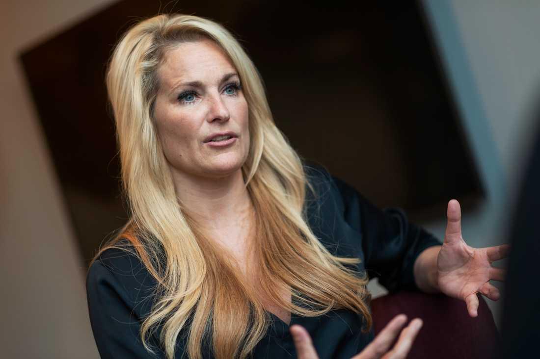 """Vi har inga problem med vår relation"", säger Niclas om exfrun Laila Bagge."
