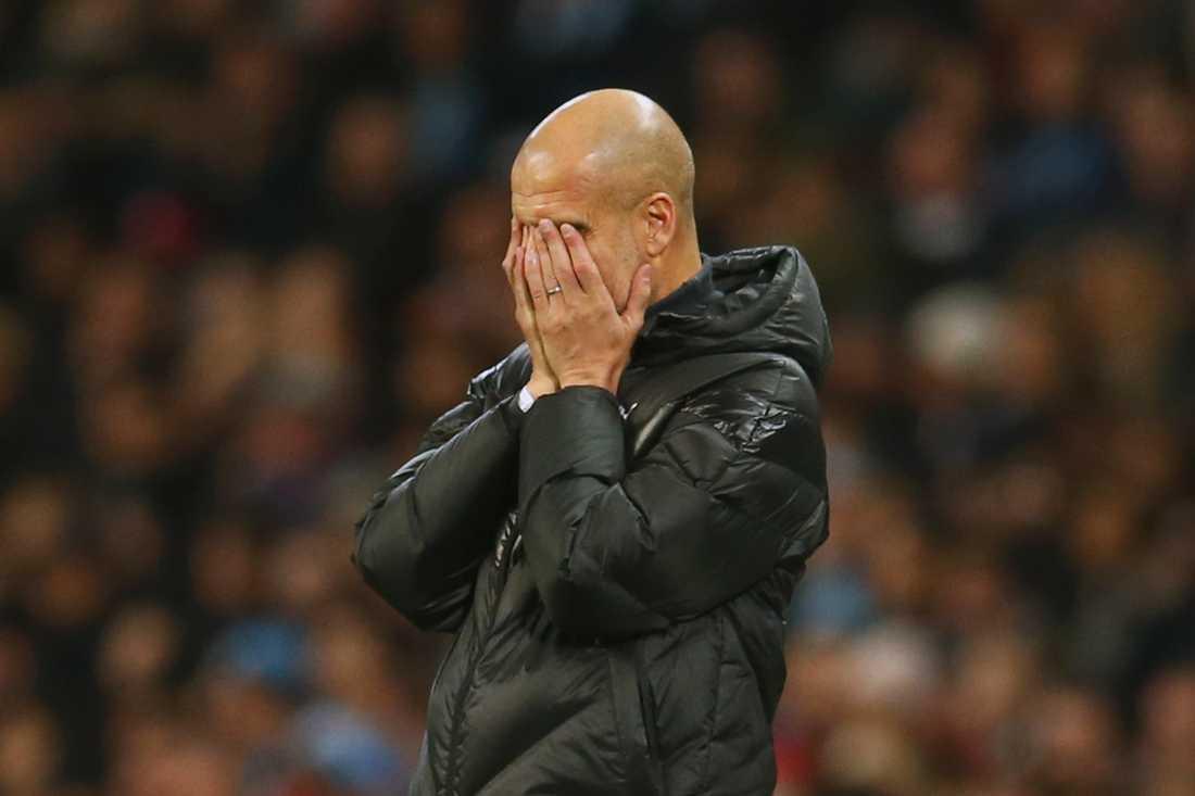 Pep Guardiolas City stängs av från Champions League i två år.
