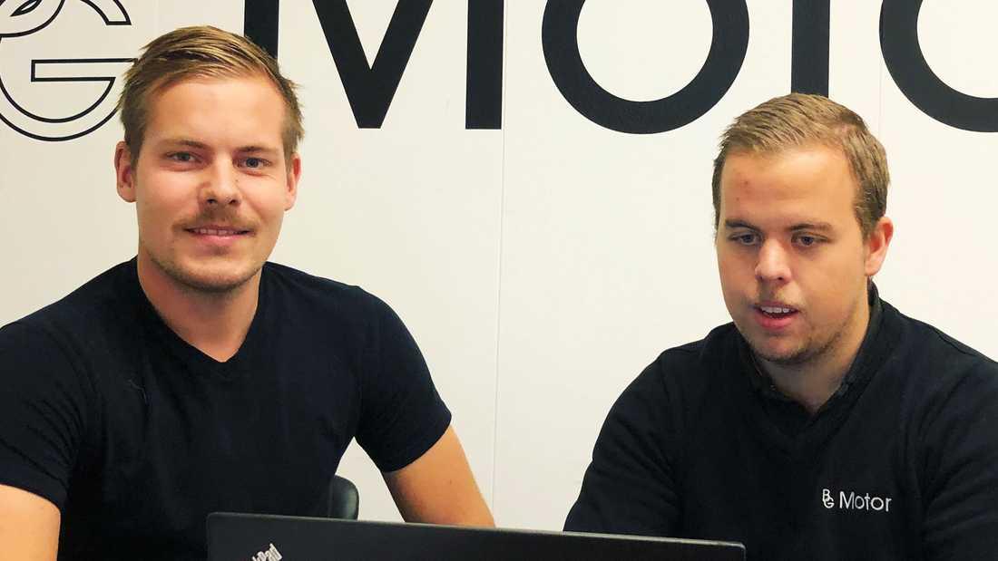 Efter succéstarten väljer nu barndomsvännerna Victor Bouveng och Erik Gustavsson att bygga nytt.