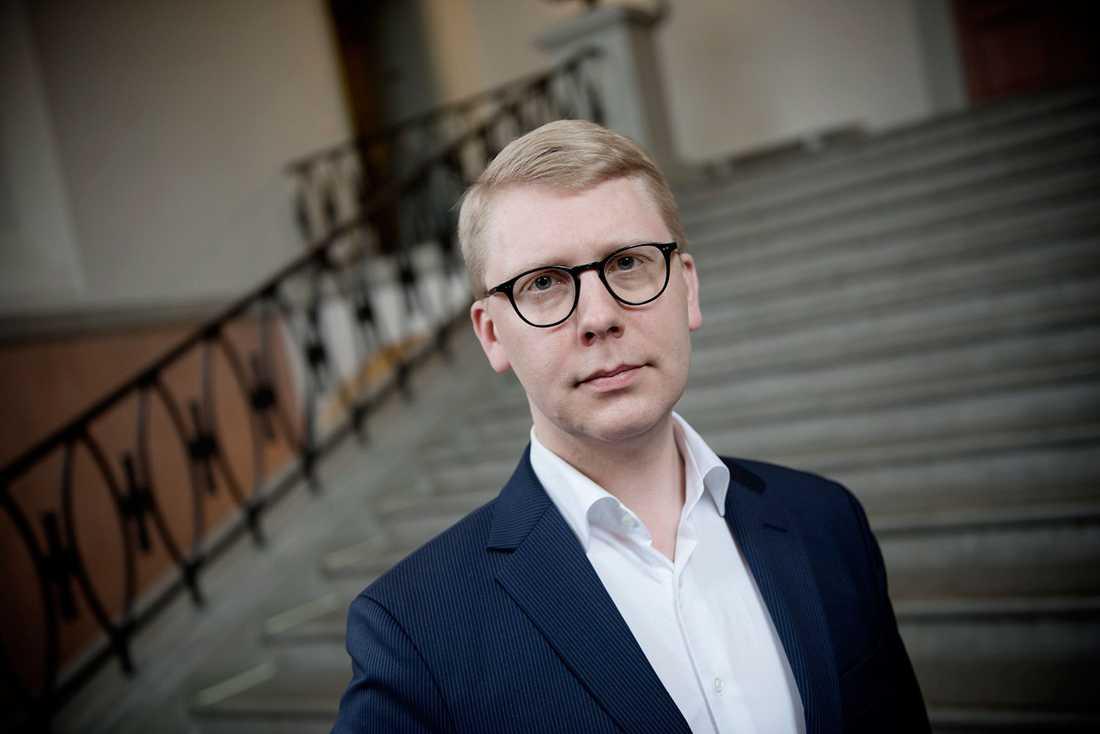 Trafiklandstingsrådet Kristoffer Tamsons (M).