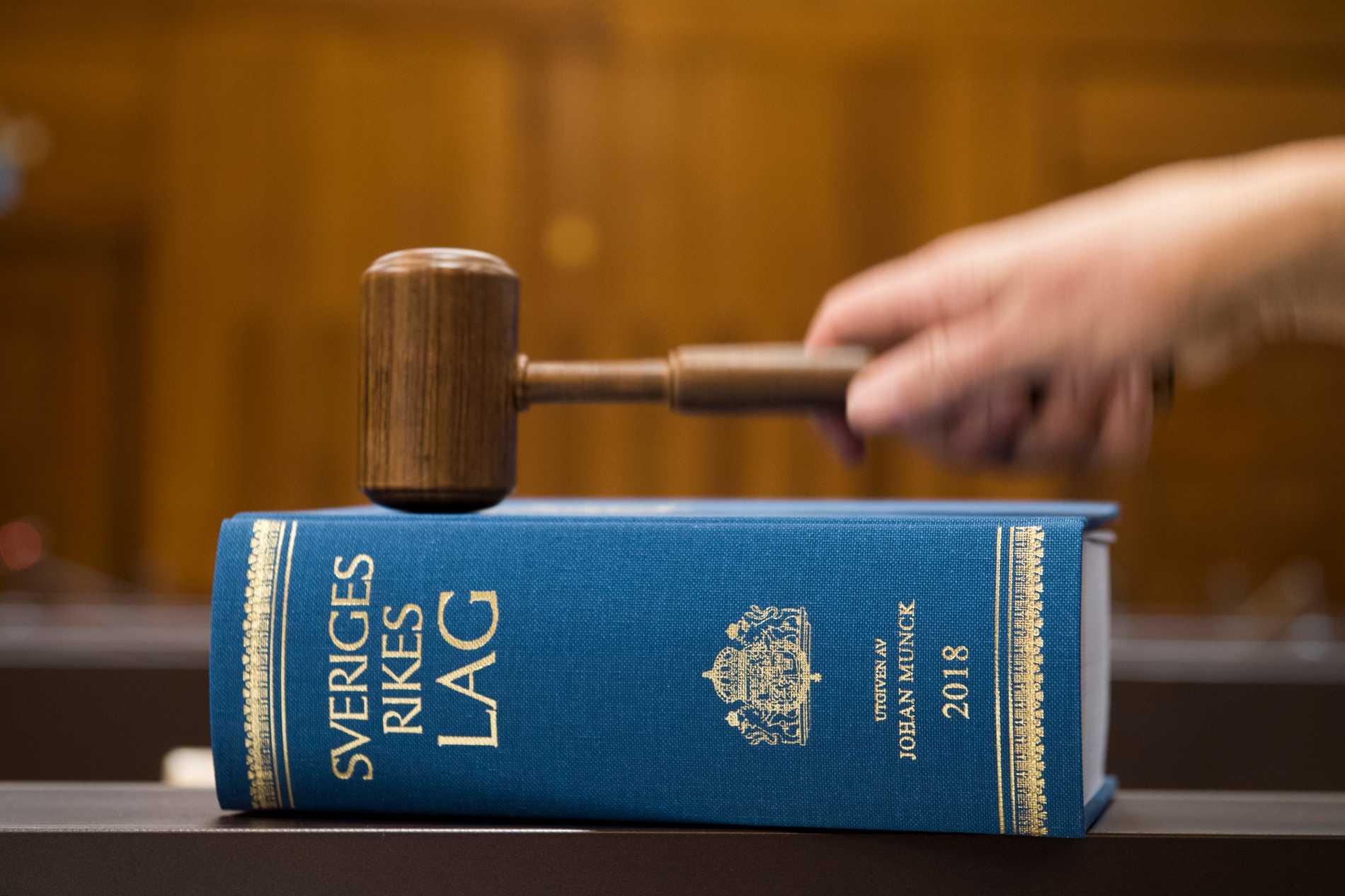 En man döms till livstids fängelse för mordet på en äldre kvinna i Uddevalla. Arkivbild.