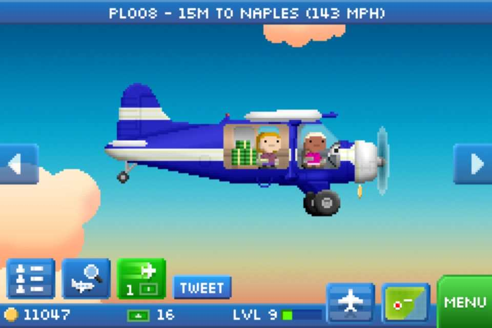 """Pocket planes"""