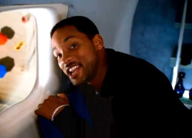 """Will Smith i videon till """"Miami"""" som släpptes 1998."""