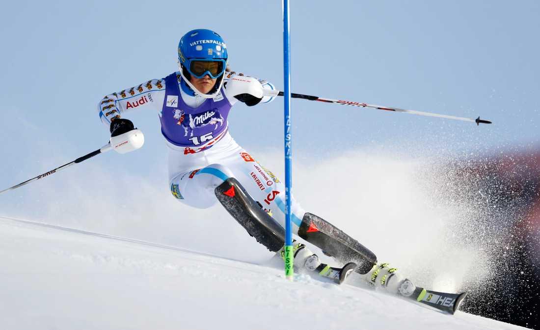 Anna Swenn Larsson i världscupen i december.