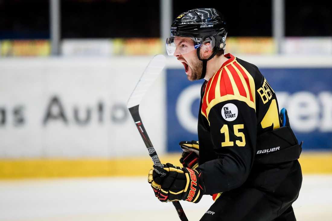 Simon Bertilsson, Brynäs, en av skrällarna.