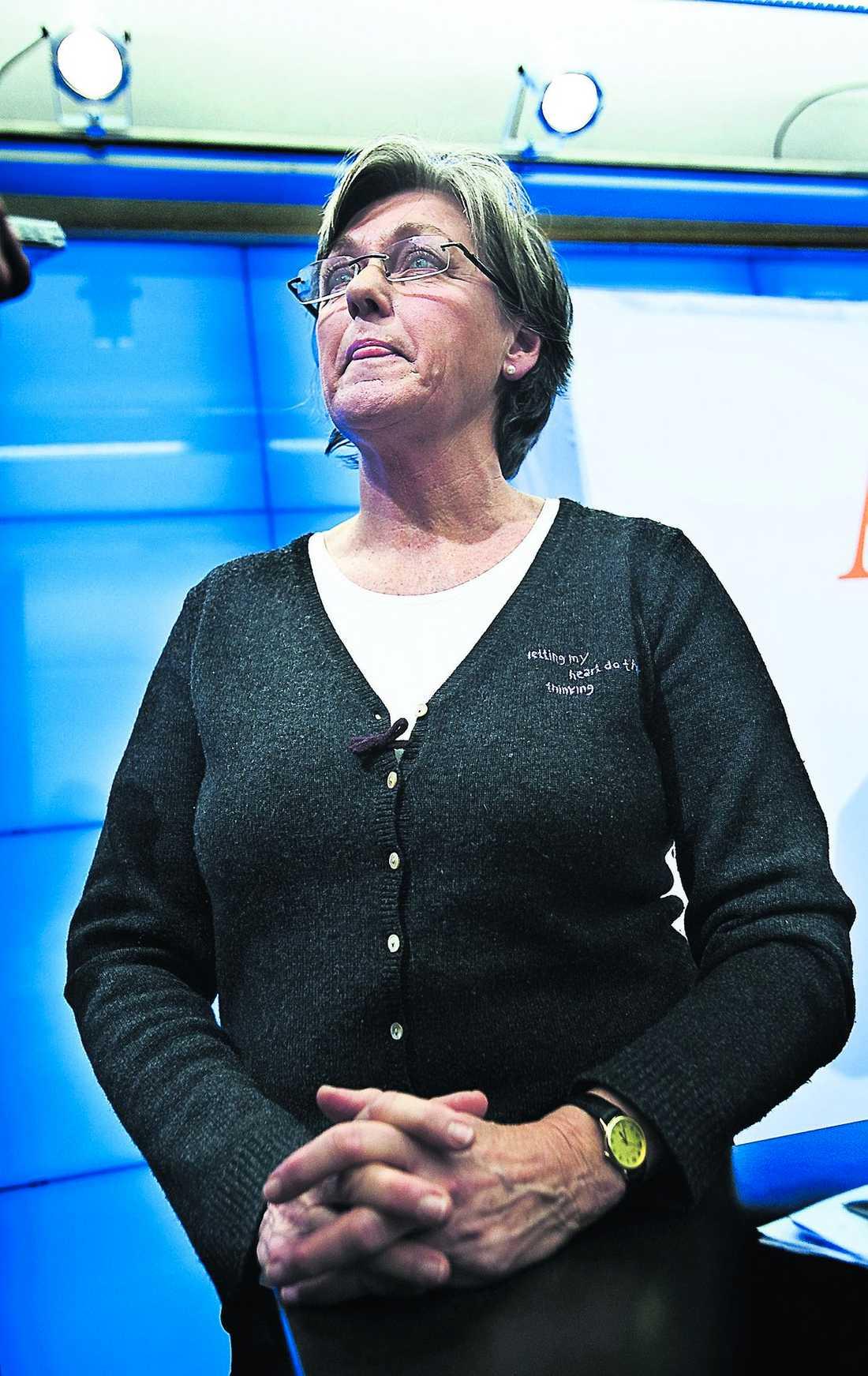 Socialförsäkringsminister Cristina Husmark Pehrsson (M).