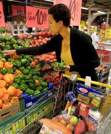 Shoppinginnovation I framtiden kan vagnarna bli så smarta att de räknar ut kaloriinnehållet åt oss.