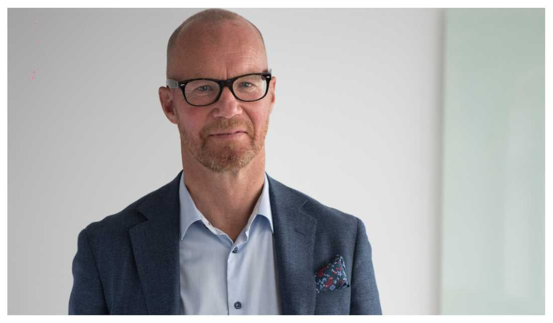 Johan Engström, vd på Fastighetsbyrån.