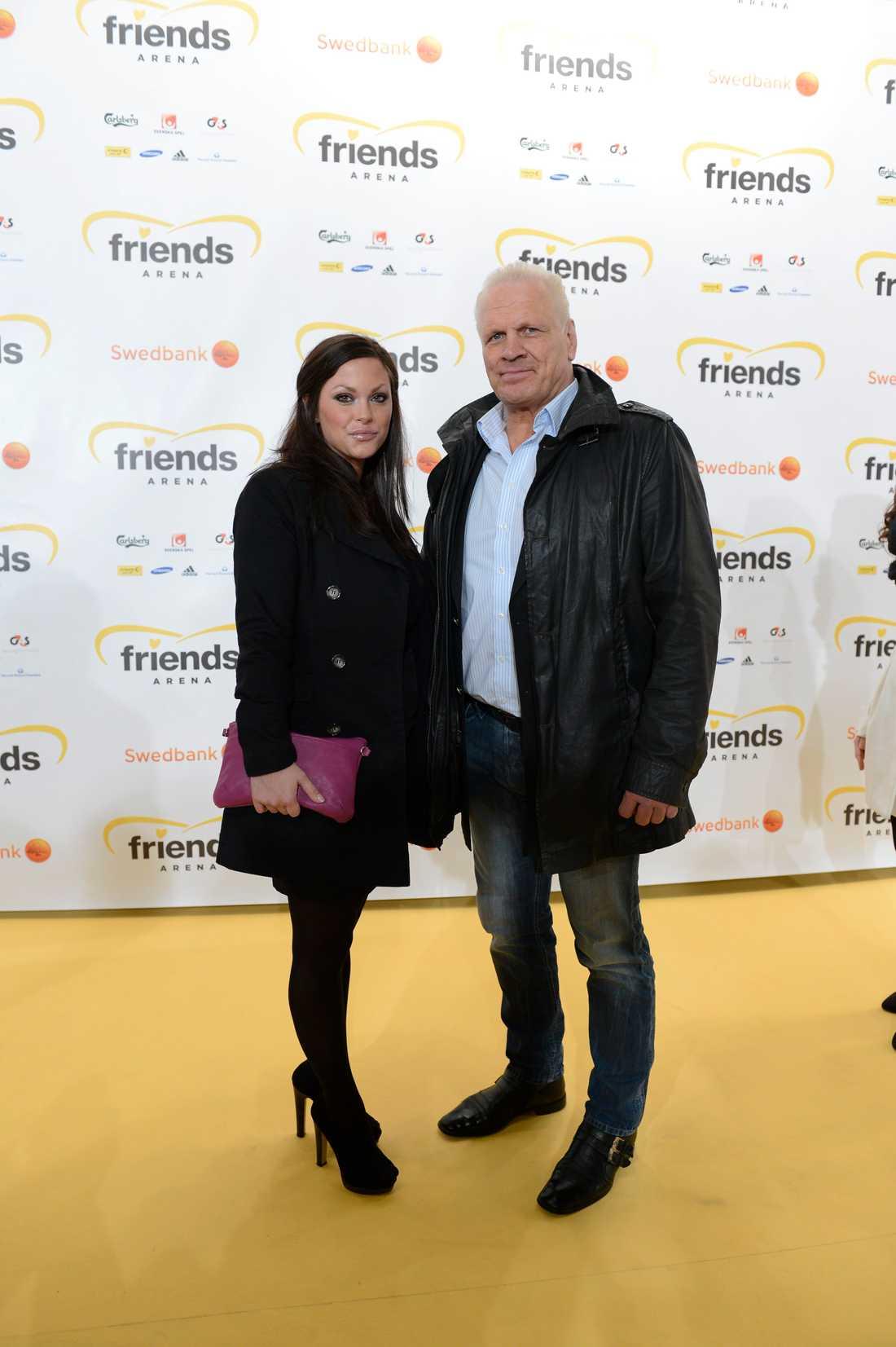 Frank Andersson och Jeanette Bouvin 2012.