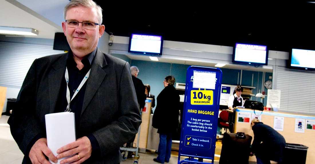 Flygboom Enligt informationschefen Carl-Magnus Hedin har Göteborg city airport haft drygt 620 000 resenärer i år. För Landvetter är den siffran 3,7 miljoner.