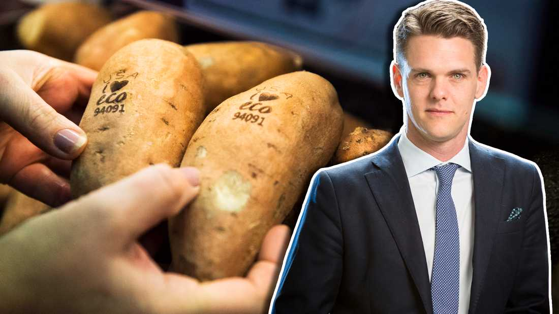 Christofer Fjellner (M): Det går inte ihop att ha ekomat som norm, samtidigt som vi ska producera mer mat och mätta fler munnar.