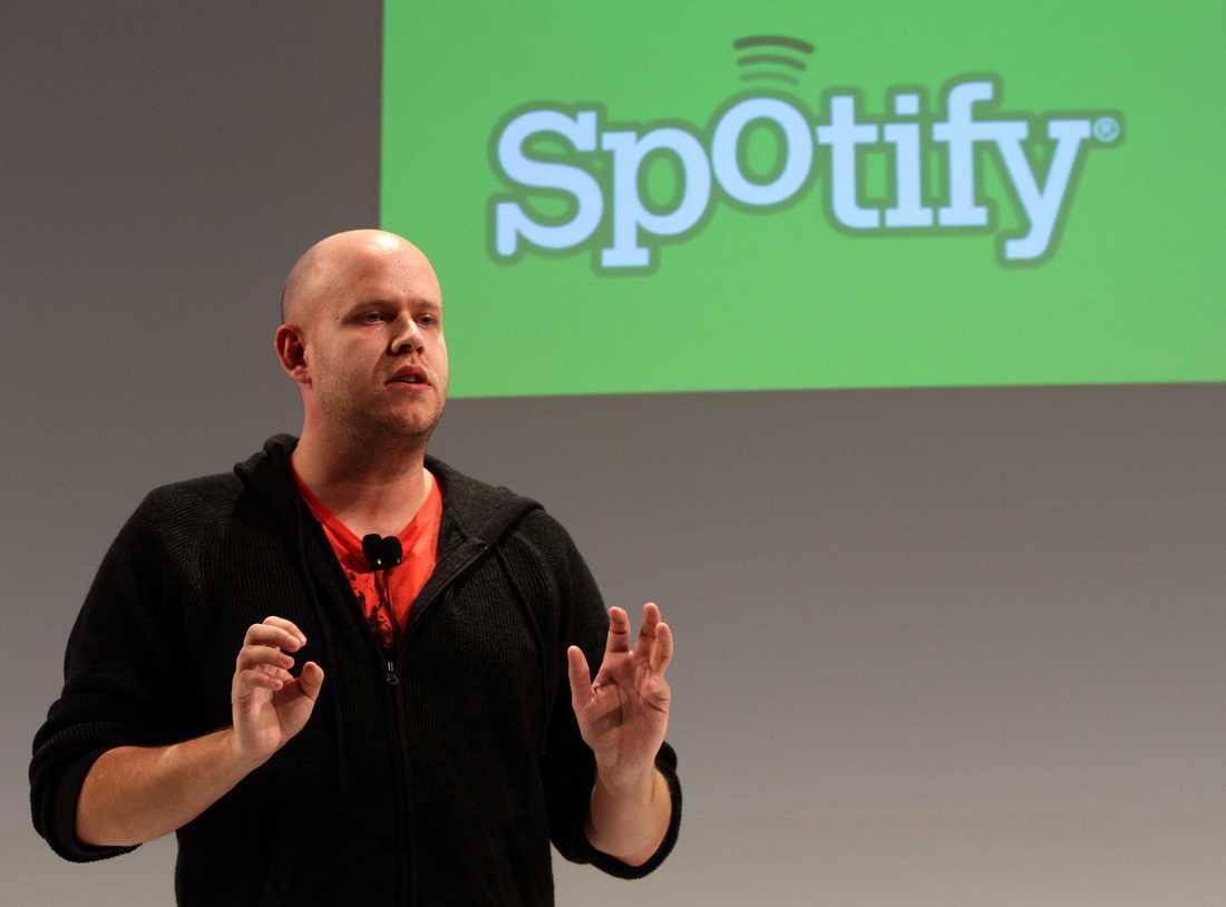 Daniel Ek, Spotifys vd.