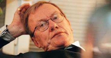 Författaren Ingmar Björkstén blev 65 år.