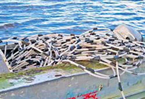 Två kilometer lång Pipelinen som användes för att smuggla spriten visade sig vara hela två kilometer lång.