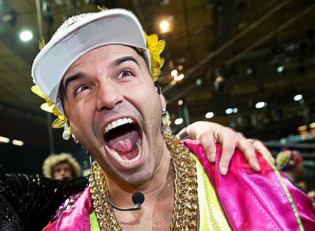 Sean Banans bidrag till Melodifestivalen uppskattades inte av alla.