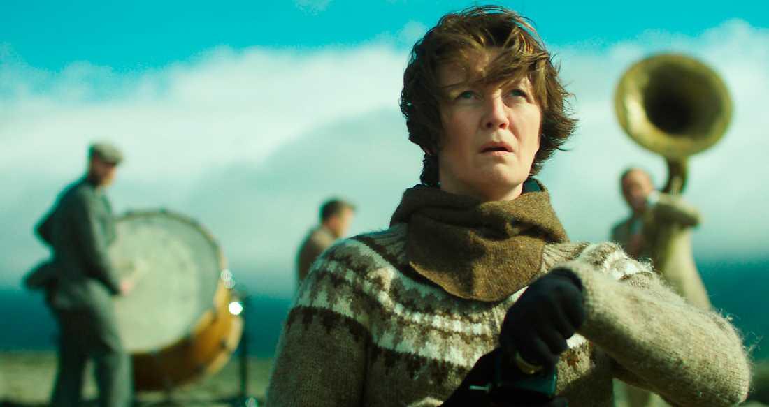"""Scen ur Benedikt Erlingssons isländska spelfilm """"Woman at war""""."""