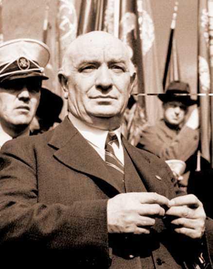 Per Albin Hansson var svensk statsminister under andra världskriget.