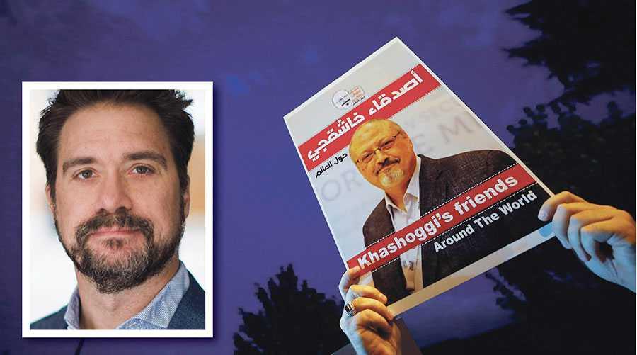 De ansvariga för mordet på Jamal Khashoggi måste ställas till svars och de 30 journalister som sitter fängslade i Saudiarabien utan rättegång måste släppas omedelbart, skriver Erik Halkjaer.