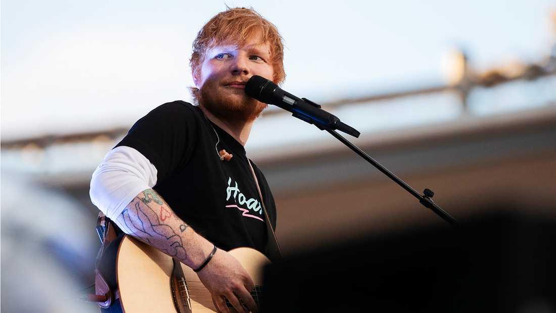 Ed Sheeran på Ullevi.