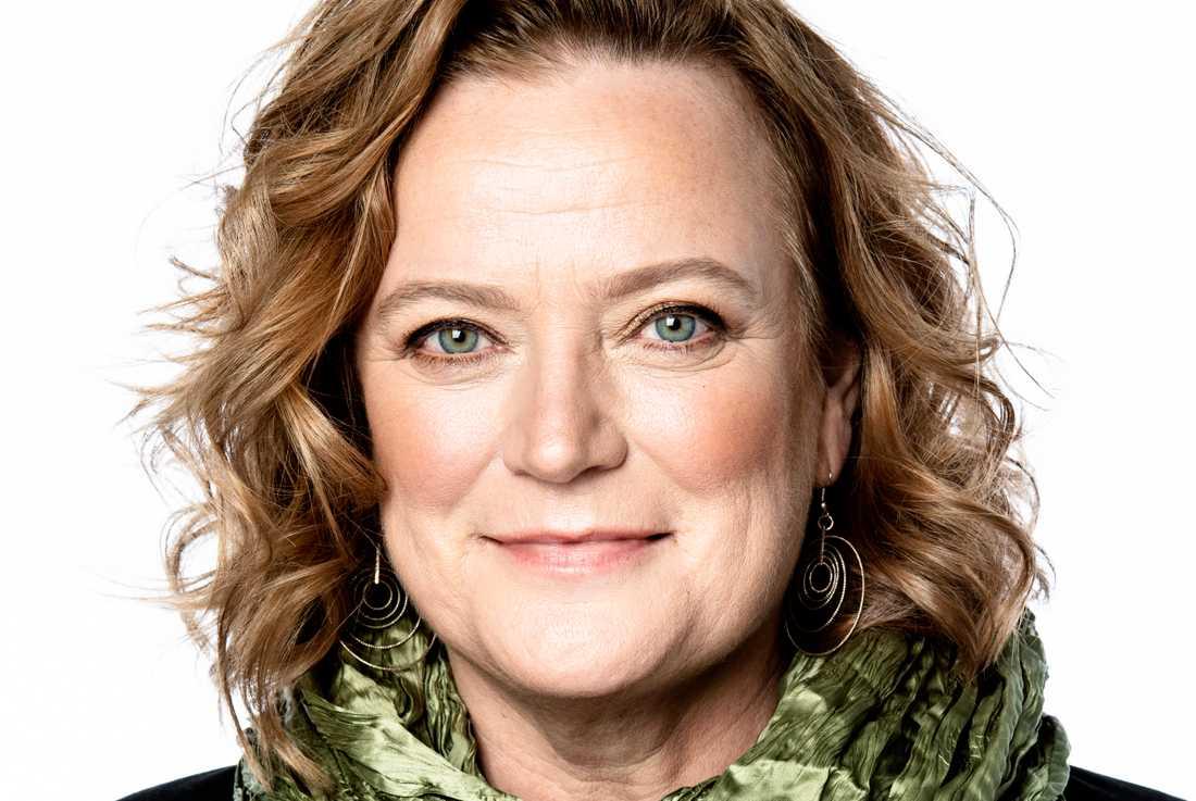 Lena K Samuelsson, Aftonbladets publisher.