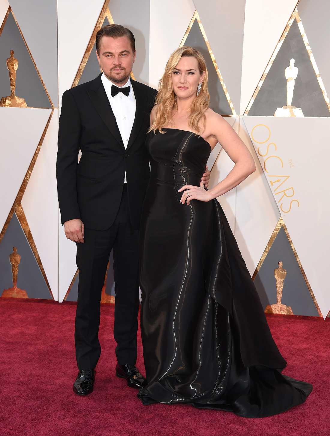 Under Oscarsgalan 2016 passade Leo och Kate på att posera tillsammans på röda mattan.