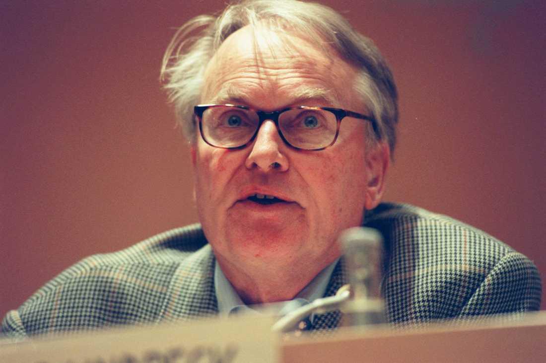 Assar Lindbeck, född den 26 januari 1930 i Umeå, var nationalekonom och professor emeritus i nationalekonomi. Arkivbild.