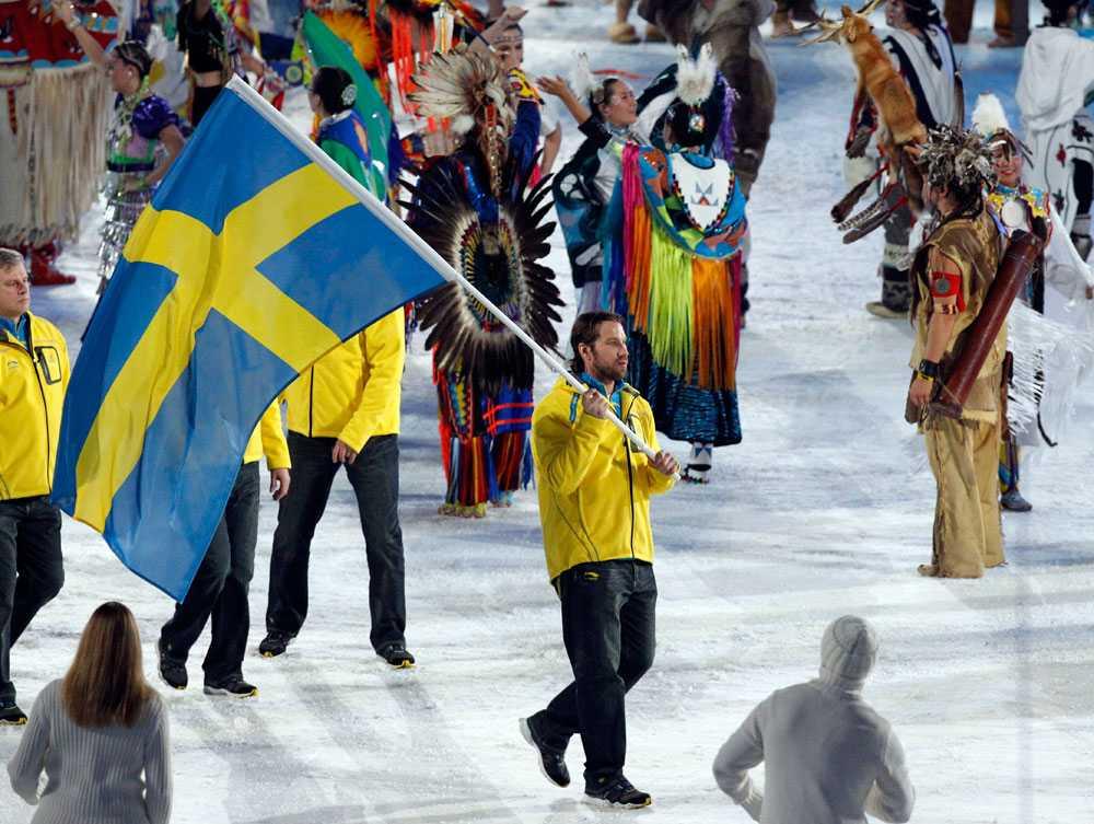 2010 i Vancouver: Peter Forsberg, ishockey.