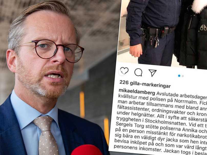 Vem har råd med en dyr jacka, Damberg?   Aftonbladet