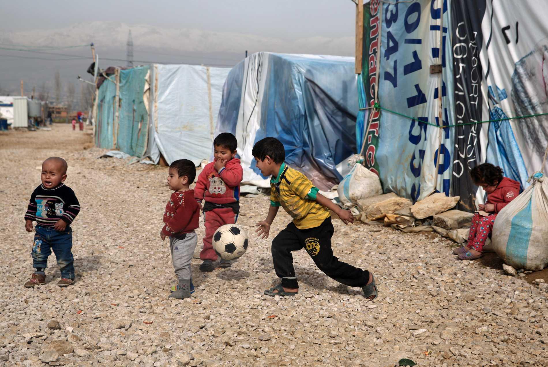 Syriska flyktingbarn