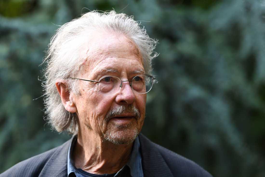 Nobelpristagaren i litteratur, Peter Handke.