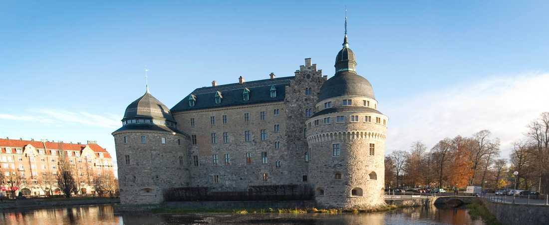 Örebros slott är en av stadens sevärdheter. Arkivbild.